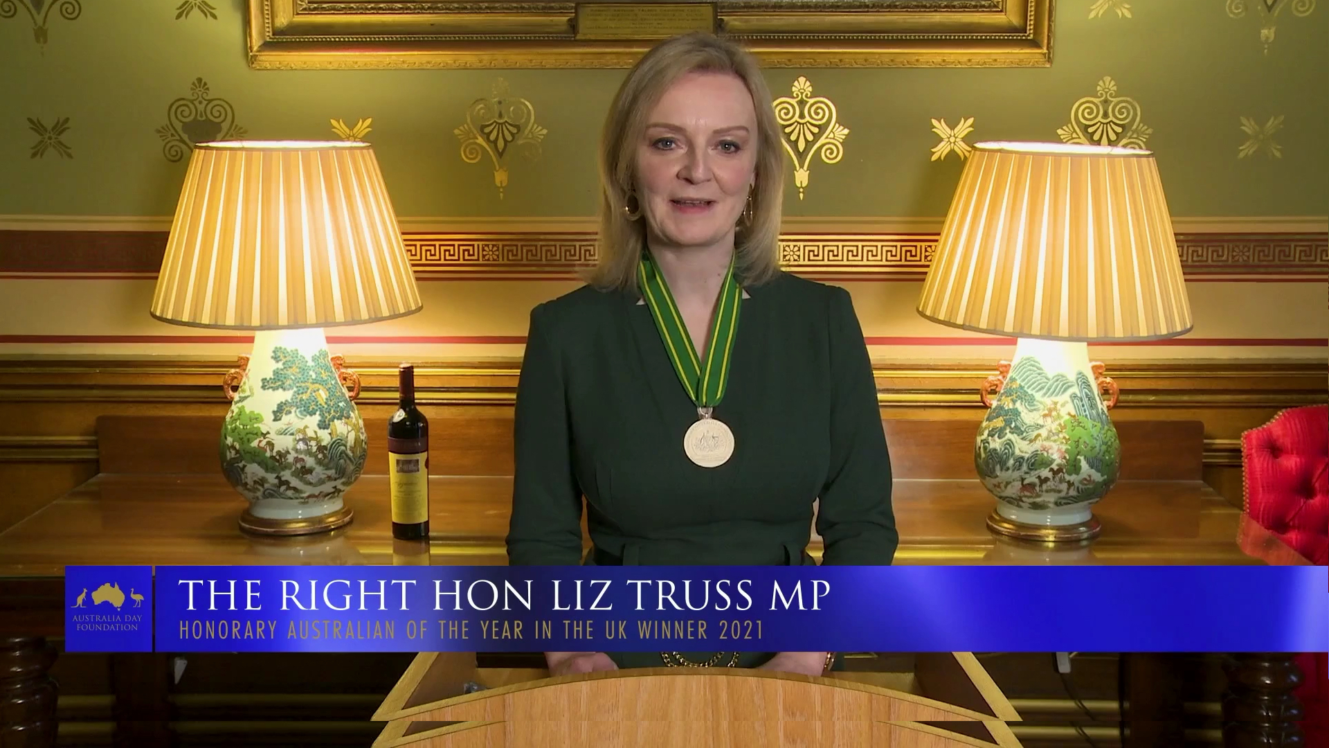 Liz Truss Winner